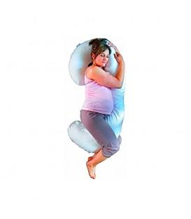 Cojín para embarazada NIDOC AP Celeste